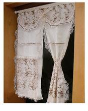 sheer curtains bottom weight