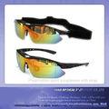 polarizar 2013 deporte gafas de sol de fibra óptica de inserción