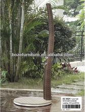 Outdoor Wicker Shower/ All Weather Resin Wicker Patio Outdoor Furniture Shower