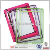 TPU+PC dual bumper universal case for iPad2/3/4 accessories