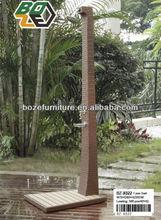 Outdoor furniture Wicker Shower / Rattan Outdoor Furniture Shower