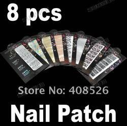 Nail Art Sticker Transfer Decoration Kit Set 2082