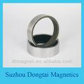 anillo en condiciones de servidumbre imán de neodimio permanente fabricante