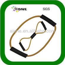 latex tube exerciser/rope price/resistance tube A-T0018 pe tube