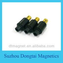 small bonded permanent neodymium magnet motor