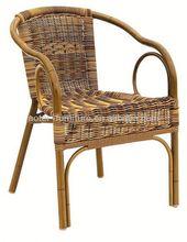 Outdoor Garden synthetic wicker outdoor stacking chair