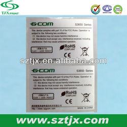 high quality printing waterproof hot uhf label
