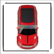 New Arrival !! Fashion LED Light 2.4G Wireless Car Mouse Red - 81008392