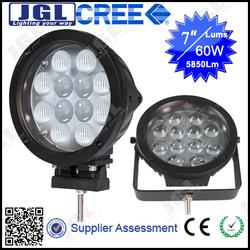 new promotion! hot! 12v tractor light45w 9-32v cree T6 5w/pcs bulb super waterproof led work light motorcycle led driving lights