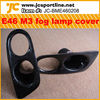 Carbon Fiber E46 Fog Lamp Cover/E46 fog Light Cover for BMW E46