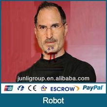 JLSR-0130 decorative lifelike silicone figure of Steven Jobs