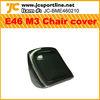 E46 M3 Carbon Fiber Car Seat Cover for BMW E46 M3