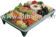 cooling serving plate for hotels, restaurants, buffets, caterer