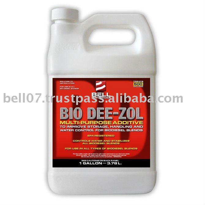 BIO DEE-ZOL treats bio diesel fuels
