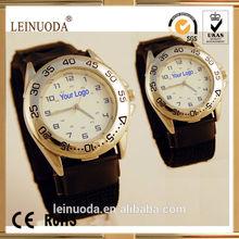 Quartz Luminous Sport Army Wrist Watch black Nylon Strap Gift sport watch
