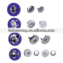 High quality brass ball buttons Strong magnetic button for leather