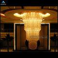 Popularidad hotel de la lámpara con acabado cromo