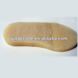 flexible crepe rubber sole material for women dress shoes in Chinese manufacters