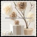 papel de tecido flor de fadas bola decorações