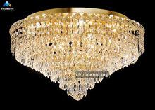 Unique crystal flush mount lighting