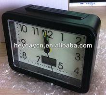 LCD glowing in dark alarm clock(HB-003)