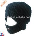 Cool fashion design 100% acrilico cappello barba