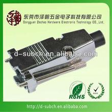 D-Sub Hood - DB9 / HD15 - Metal - Includes Grommets
