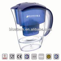 Hot sale TULIP antioxidant alkaline water filter jug