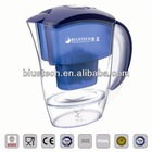 Hot sale TULIP alkaline water filter pitcher