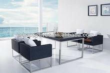 Outdoor Stainless Steel Rattan/Wicker Furniture (HL-9036)