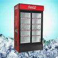 procool comercial geladeira 1150l dobradiça dupla porta bebidas chiller