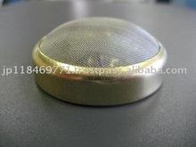 Japanese Brass Baffle Plate Metal Mesh Filter 43.1(dia.)