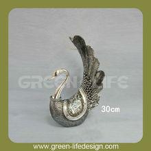 Resin peacock decorative item