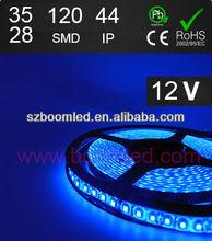2013 latest technology green blue led light strip waterproof ip44 3528 12v/long life led strip light