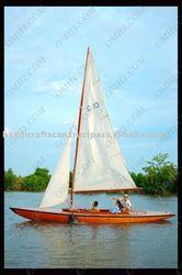 Real Sailing Boat