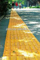 Heat resistant rubber roof tiles