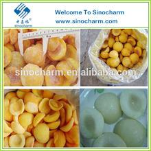 Yellow and White Peach Frozen Peaches