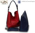 scarpa italiana e set borsa di corrispondenza con portafoglio pars donne borsa in vera pelle