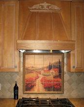 Tile Mural, Kitchen Backsplash,Outdoor tile mural