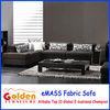 Foshan Golden Furniture arabic majlis corner fabric sofa EM-826