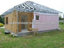 Light gauge steel social house