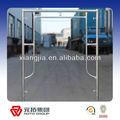 Pre- escalera de acero galvanizado marco andamios del sistema
