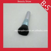Big size flat top powder/blusher brush,soft synthetic hair big make up brush,professional best seller foundation brush,