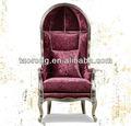 2013 новый отель мебель гостиничном номере диван стул с высокой спинкой/древесина обивка дивана стул ch-2013-23