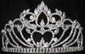 rhinestone rainha noiva princesa strass coroa tiara