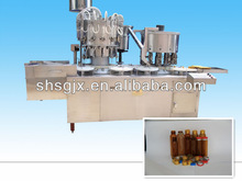 SG High-speed Liquid Filling & Capping Machine.Rotate back wheel ,High-speed small liquid filling machine
