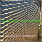 Expanded Metal Mesh curtain wall mesh /Aluminium Decorative Expanded Metal/ Anodic Oxidation aluminum expanded metal mesh