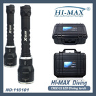 Hi-max cree xm-l u2 led high level diving flashlight 200meter 3800lumen scuba gear