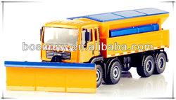 KDW die cast snowplows truck