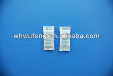natural safe 0.5g silica gel desiccant in tyvek paper